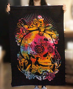 Cotton Tapestry  | Day of the Dead
