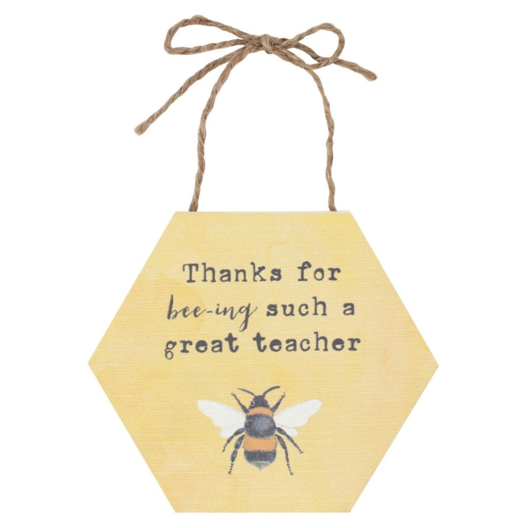 Great Teacher ~ Hanging Sign