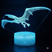 Load image into Gallery viewer, Pterodactyl 3D Lamp