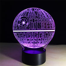 Load image into Gallery viewer, Death Star 3D Lamp