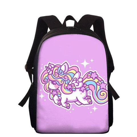 Cartable Rose Licorne