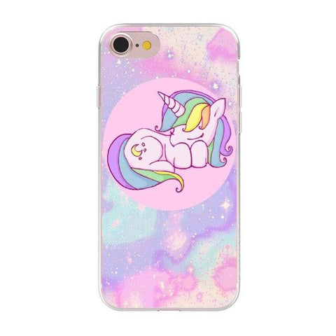 Coque de Telephone Licorne iPhone 5
