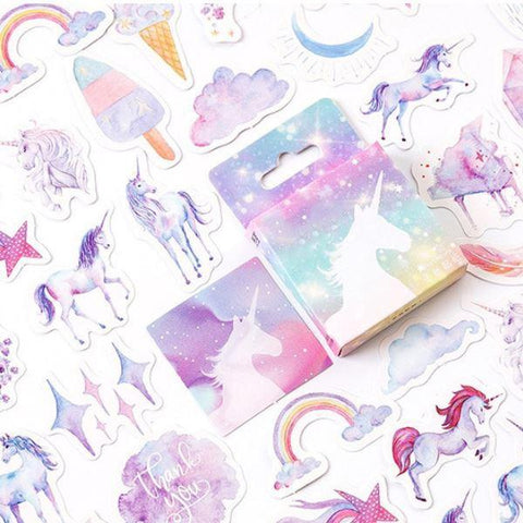 Mini Stickers Licorne