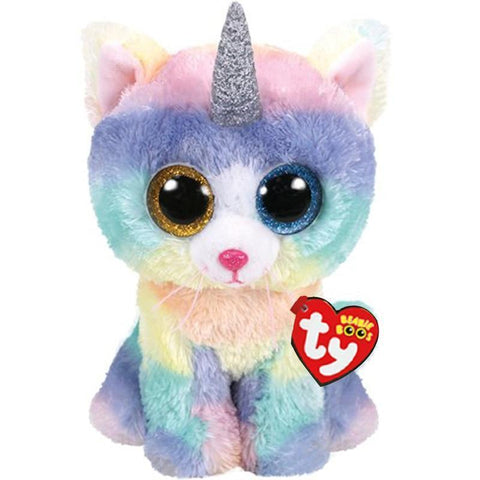 Peluche Gros Yeux Ty Licorne