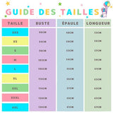 Guide des tailles Pull