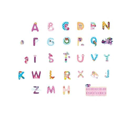 stickers licorne alphabet