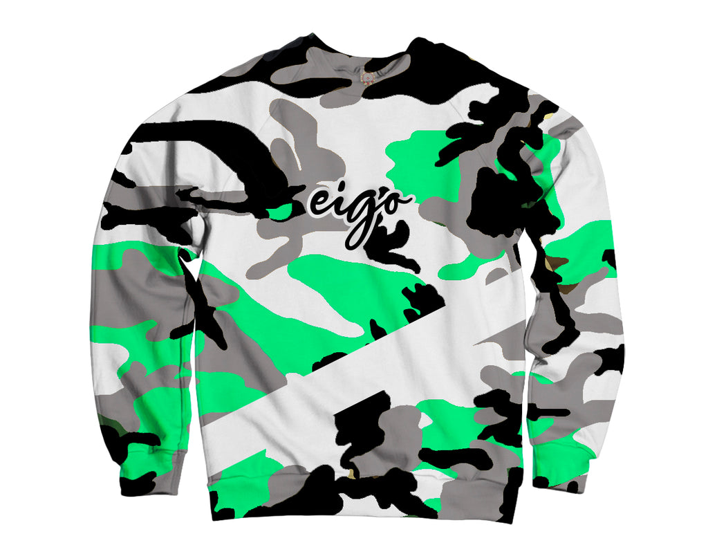 """Army"" Crewneck Sweater"