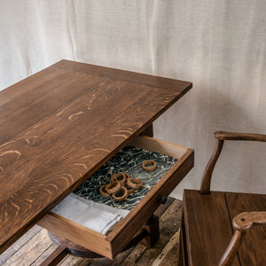 Crescent Refectory Table