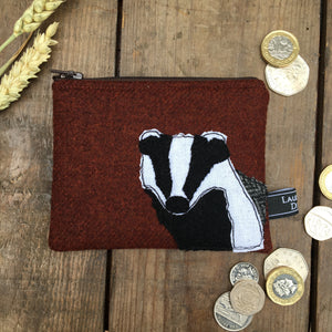 BARNABY Badger Purse