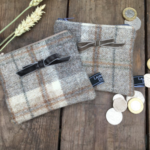 ESME Grey Check Purse