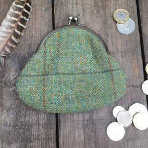 IRIS Green Clipped Purse