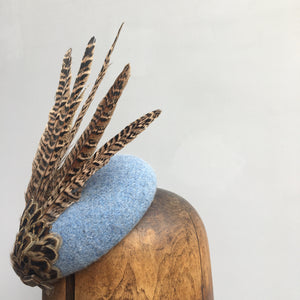 EVIE Tweed Fascinator