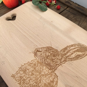 JACK Hare Beech Chopping Board