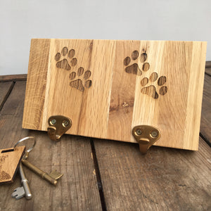 Paw Print Small Plaque