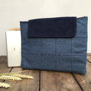 AUSTIN Blue i-pad Case