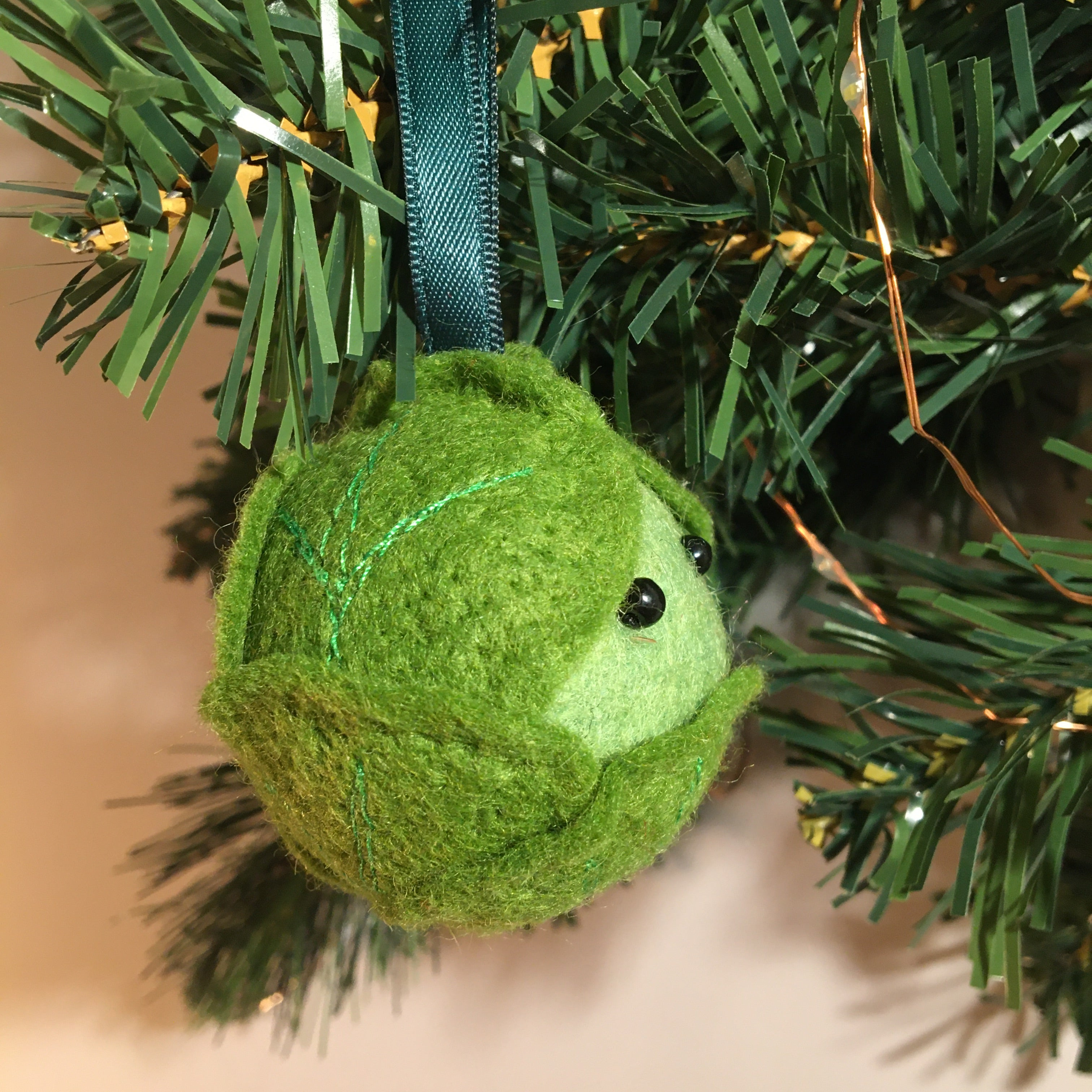 Brussel sprout decoration
