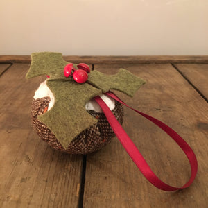 Pudding Christmas Decoration