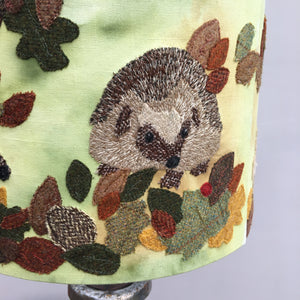 Autumn Hedgehog Lampshade