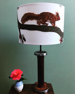RUN Squirrel lampshade