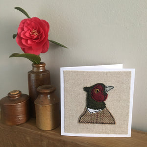 GREGORY Pheasant Stitched Card