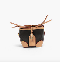 Mini Colorblock Bucket Crossbody Bag 可愛迷你抽繩水桶包
