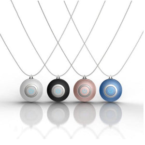 4 pcs of Personal Mini Portable Air Purifier Necklace (FREE SHIPPING)
