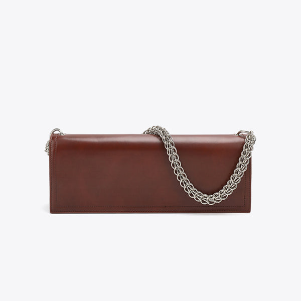 Envelope Chain Shoulder Bag 長方型銀錬腋下包