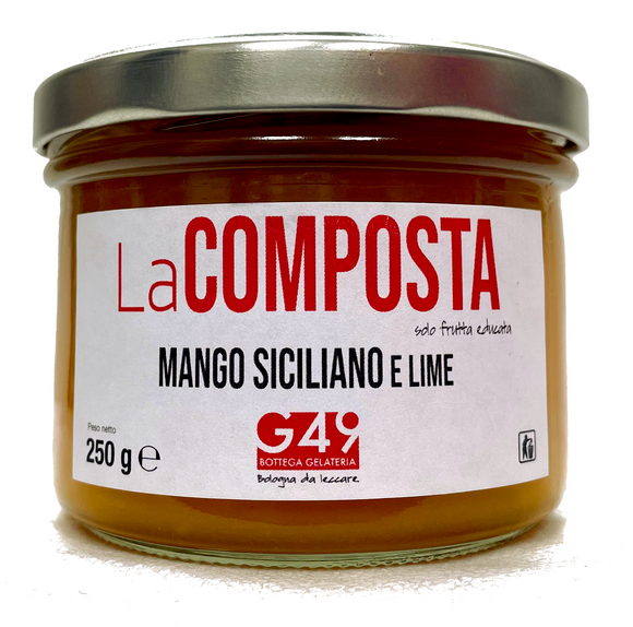 LaCOMPOSTA di Mango Siciliano e Lime