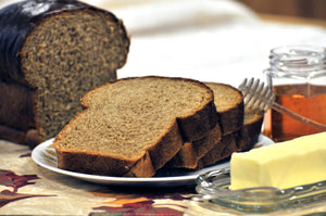 WHEAT BREAD - Whole Wheat Honey Molasses