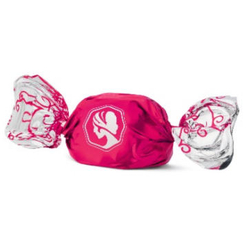 Pink Lady Twist Wraps - Blackforest Cherry 100g