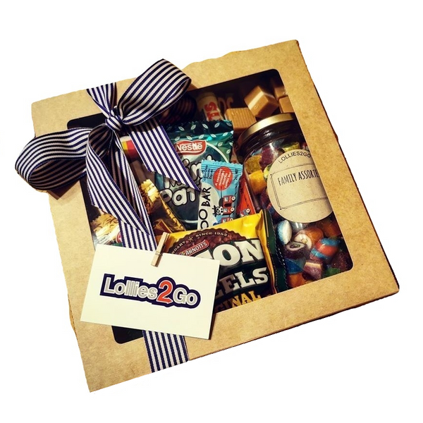 Old School Lolly Gift Box - FATHER'S DAY DELIVERY