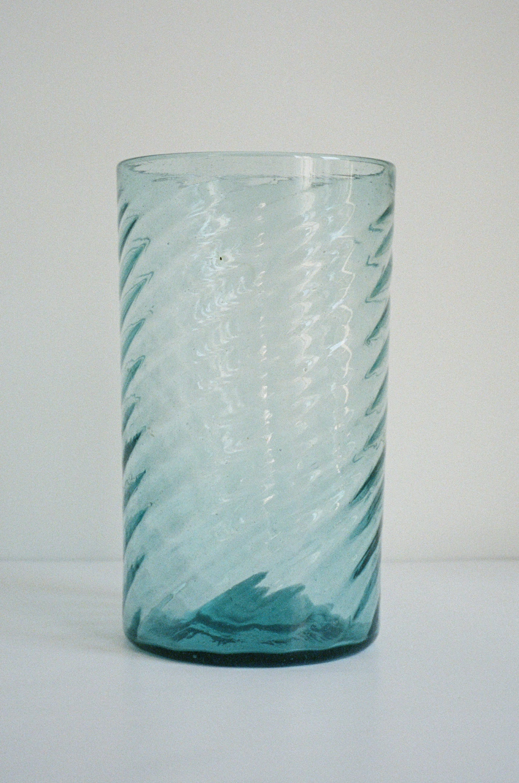 Large Antique Swirl Vase