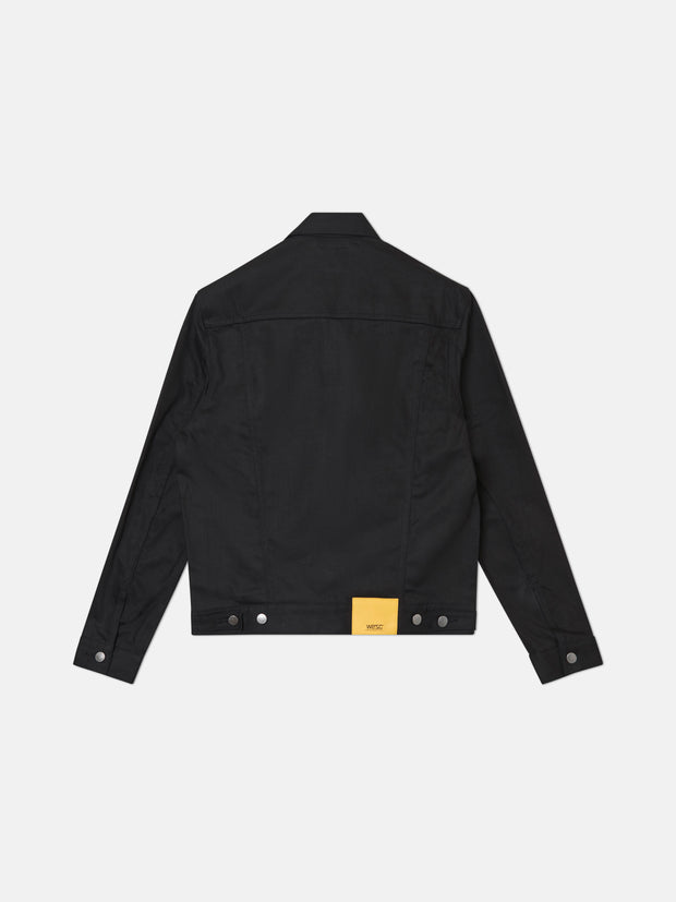 DENIM JACKET STAY BLACK