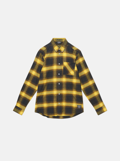OLAVI SHADOW PLAID L/S SHIRT