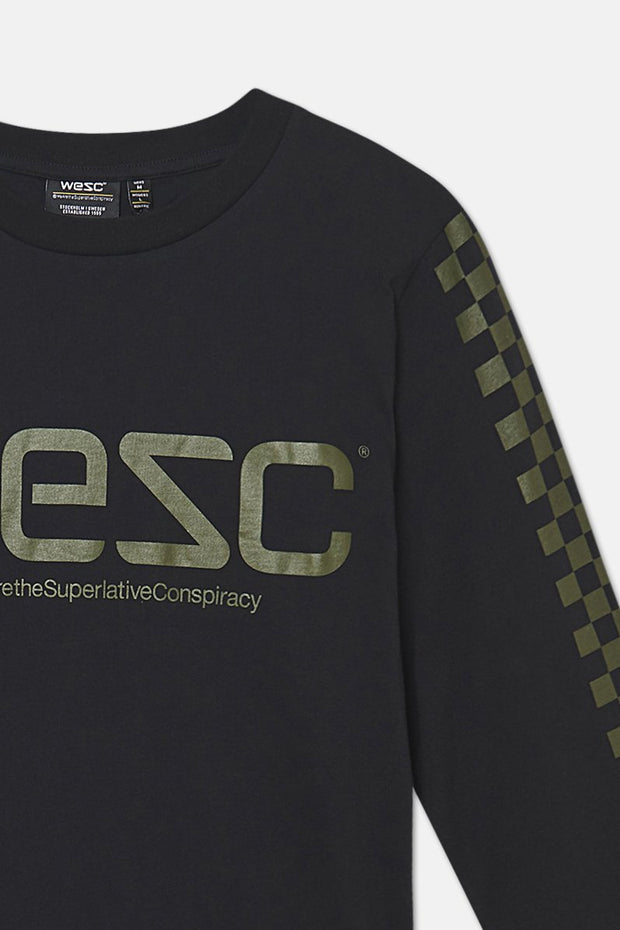 MASON CHECKERBOARD LONG SLEEVE