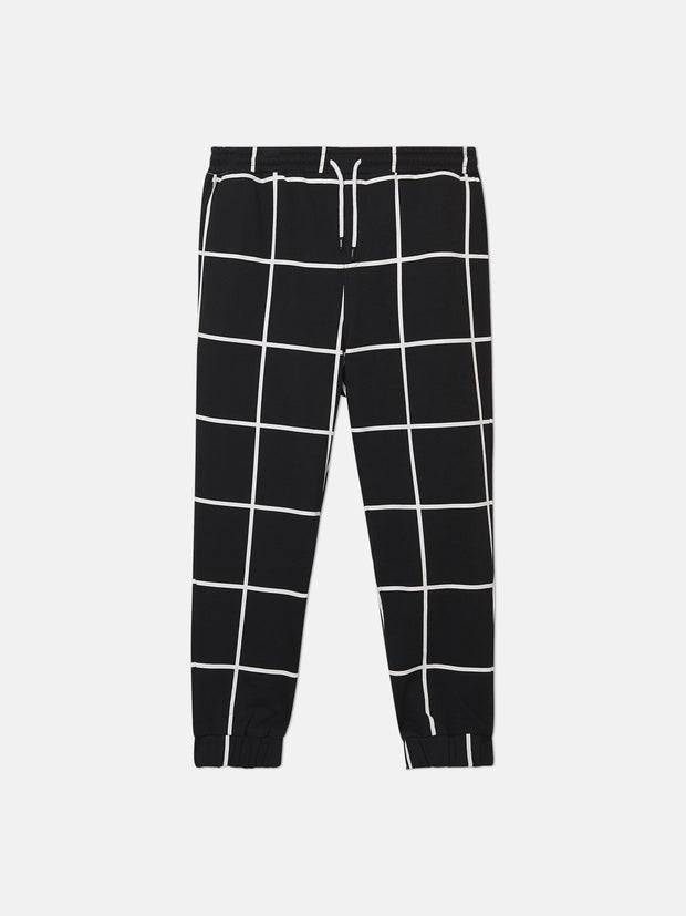 WINDOWPANE JOGGER