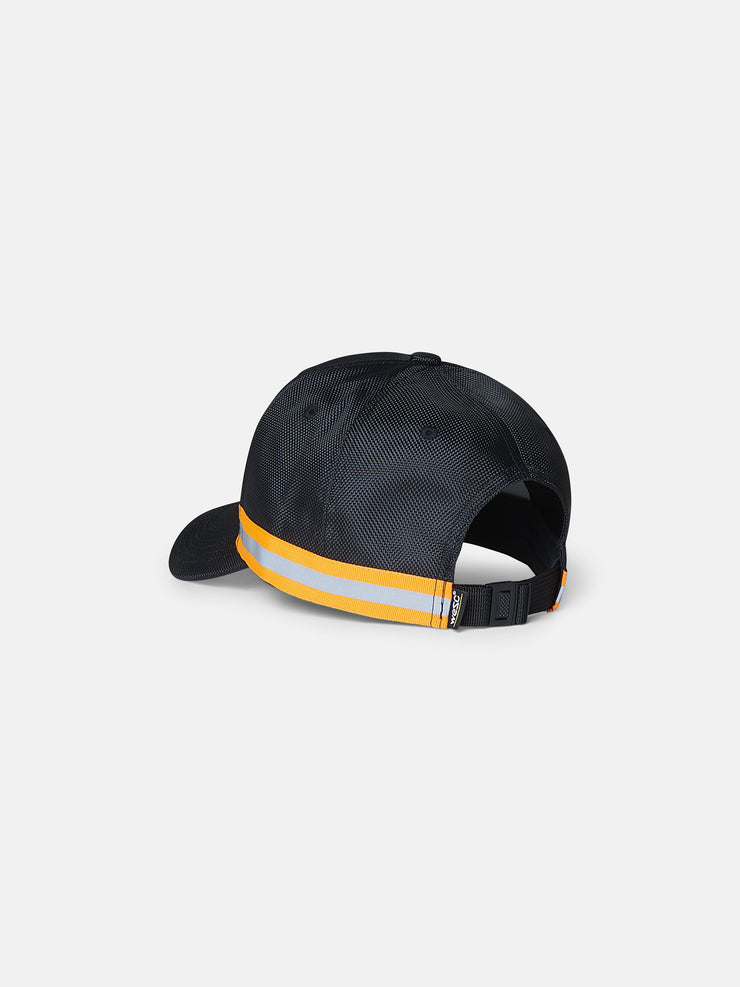 TEXTURED NYLON REFLECTIVE HAT