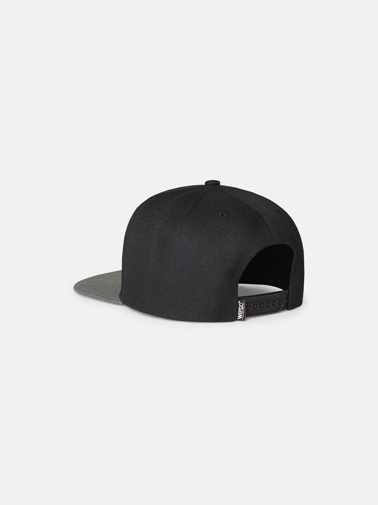 OVERLAY LOGO COLORBLOCK HAT
