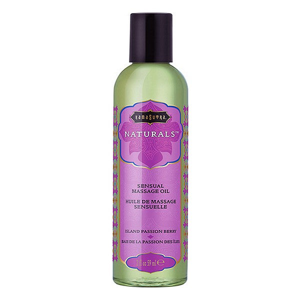Erotisk massageolie Island Passion Berry Kama Sutra (59 ml)