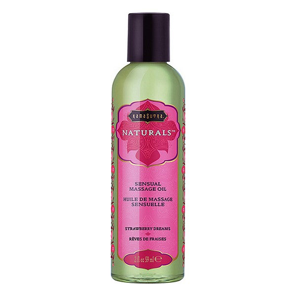 Erotisk massageolie Strawberry Dreams Kama Sutra (59 ml)