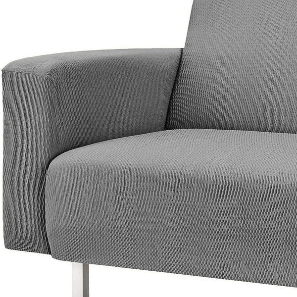 Elastisk cover til sofa CLIZQTUNGRIS (Refurbished B)