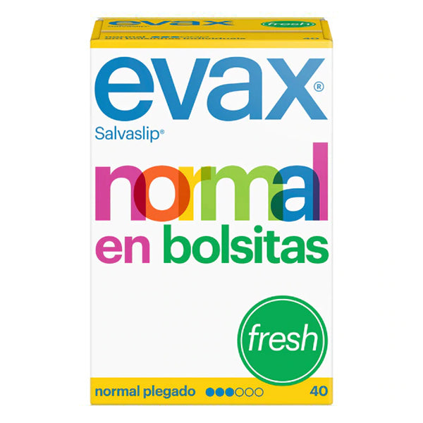 Salvaslip Normal fresh Evax (40 uds)