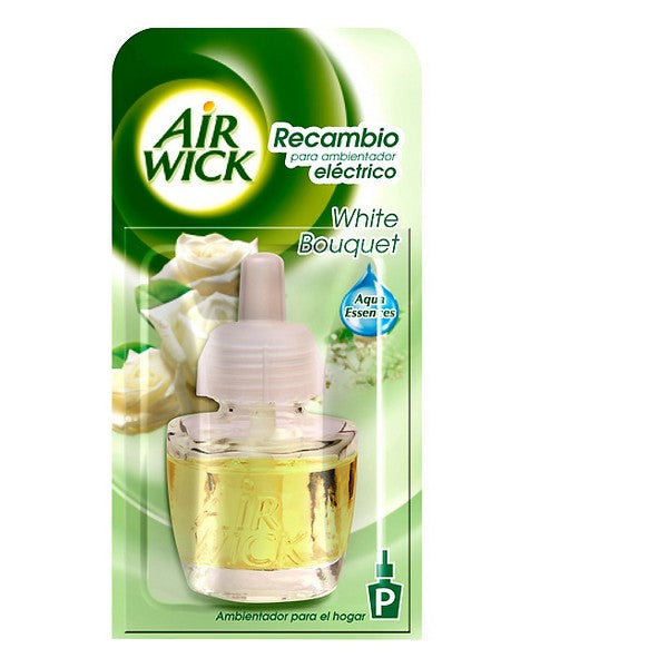 Elektriske Luftfrisker Refills White Bouquet Air Wick (19 ml)