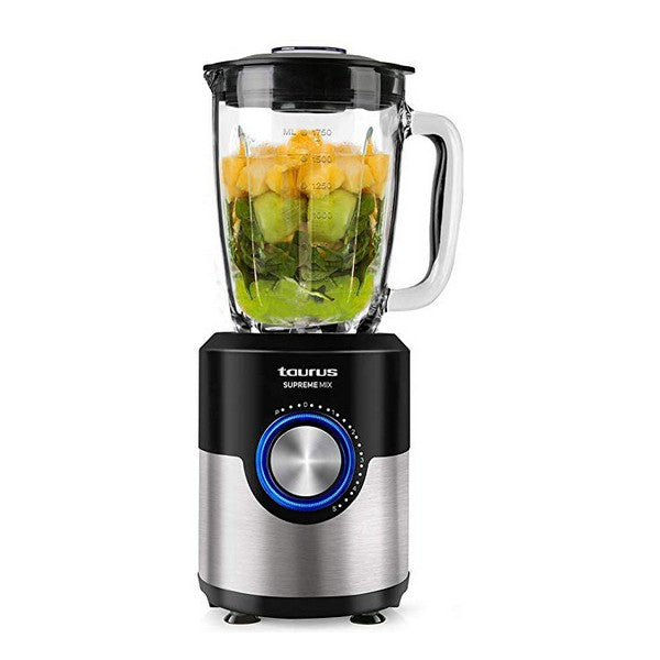Kop-blender Taurus Supreme Mix 1,75 L 1200W Sort