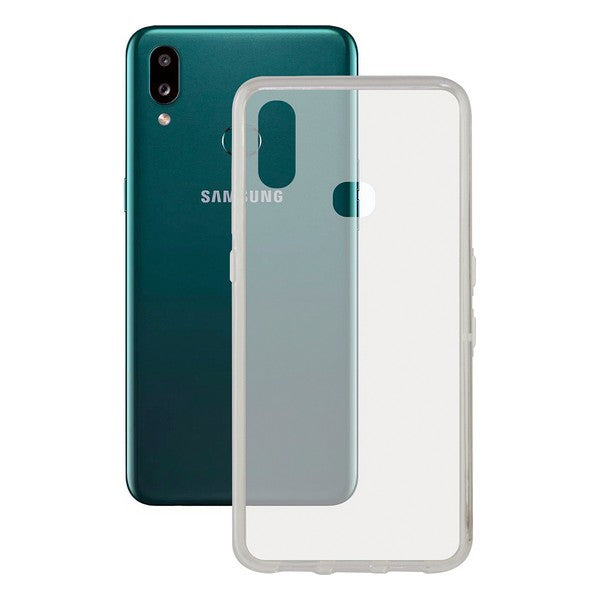 Mobilcover Samsung Galaxy A10s Contact Flex TPU Gennemsigtig