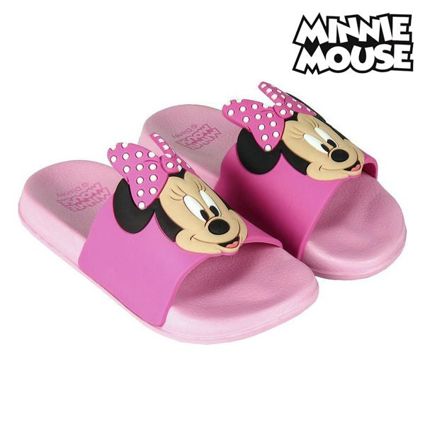 Klipklappere til børn Minnie Mouse Sort