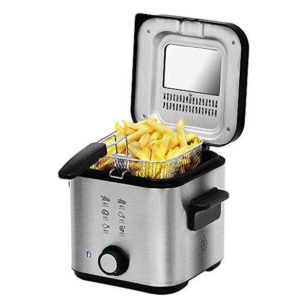 Frituregryde Cecotec CleanFry Infinity 1500 1,5 L 900W Sort Rustfrit stål