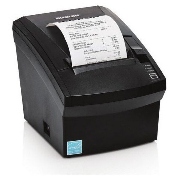 Billetprinter Bixolon SRP-330II COES USB Ethernet Sort