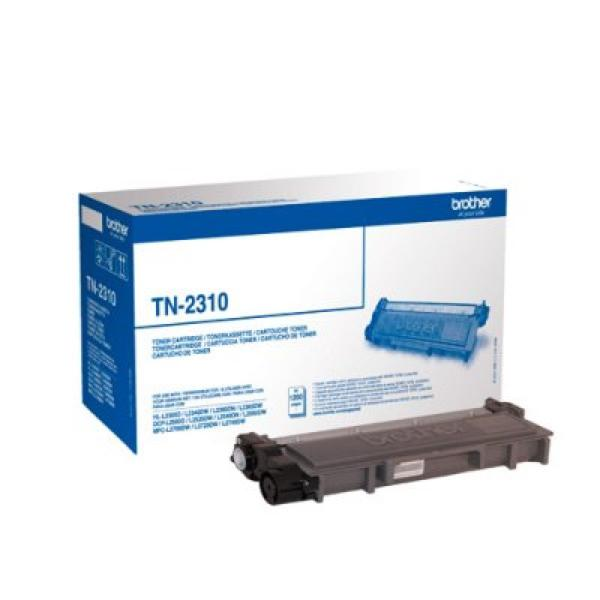 Original toner Brother TN2310 Sort