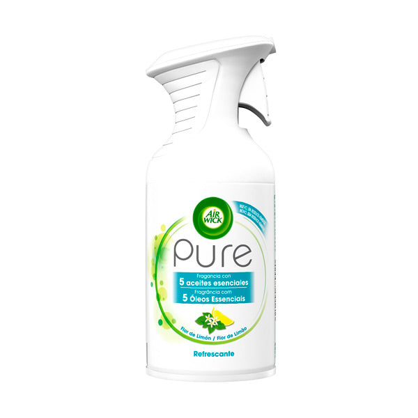 Air Wick Pure Afkølende Essentiel Olie Luftfrisker Spray